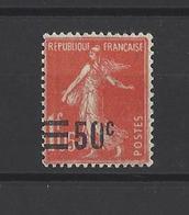 FRANCE  YT   N° 225  (0 Cassé) Neuf **  1926 - Neufs