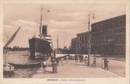 ITALY - Brindisi 1925 - Hotel Internazionale - Steamer - Brindisi