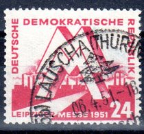 DDR 1951 Mi. 282 Leipziger Messe Gestempelt (S183) - DDR