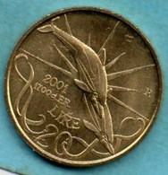 SAN MARINO / SAINT MARIN  20 Lire 2001 - San Marino