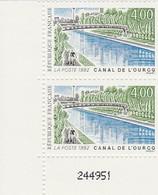FRANCE 1992 N°2764** CANAL DE L'OURCQ LA PAIRE BDF - France