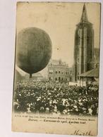 HORNU . Kermesse 1903. Ballon à Gaz - Boussu
