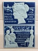 VIENNA 1904 ÖSTERREICH AUSSTELLUNG FÜR SPIRITUS VERWERTUNG UND GÄRUNGS GEWERBE WIECHIUDILETTERA  ETICHETTA PUBBLICITARIA - Francobolli