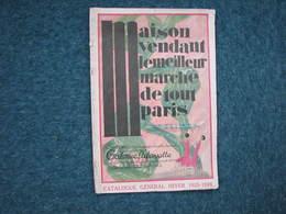 Galeries Lafayette Hiver 1925/1926  96 Pages 25X37  B.E. Voir Photos - Textile & Clothing