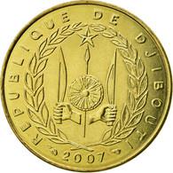 Monnaie, Djibouti, 10 Francs, 2007, Paris, SUP, Aluminum-Bronze, KM:23 - Djibouti