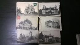 Superbe Lot De 700 Cpa Les Chateaux De France Petits Et Moyens - Cartes Postales