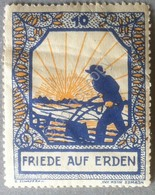 Erinnofilia Germania - Friede Auf Erden - Pace Sulla Terra - Francobolli