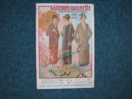 Galeries Lafayette  Eté 1925  88 Pages 25X37  B.E. Voir Photos - Habits & Linge D'époque