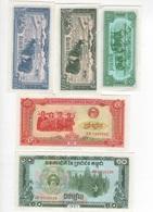B31 - CAMBODGE Lot De 5 Billets - Cambodia