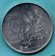 SAN MARINO / SAINT MARIN  10 Lire 2001 - San Marino