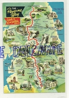 Royaume-Uni. The Pennine Way. Edale To Kirk Yetholm. A Dennis Postcard. 1989 - Cartes Géographiques