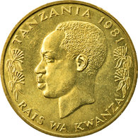 Monnaie, Tanzania, 20 Senti, 1981, TTB, Nickel-brass, KM:2 - Tanzania