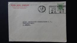 Hongkong - 1954 - Mi:HK 180, Sn:HK 187, Yt:HK 178 On Envelope - Look Scan - Hong Kong (...-1997)