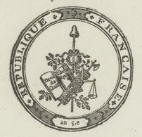 Héraldique Colmar An 8-19.9.1800 Extrait Du Registre - Documentos Históricos