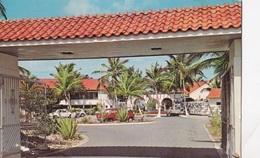 ARUBA ENTRANCE OF HOTEL BASI RUTI PALMBEACH  VG AUTENTICA 100% - Aruba