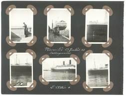 """MARSEILLE Et Bateau """"L' Athos II - 6 Photos   (PH 81) - Bateaux"""