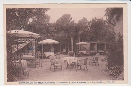26788 Blonville Sur Mer -pension Nos Vacances Jardin - -ed Champdor - - France
