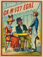 AN 357 -/ ETIQUETTE    LIQUEUR - CA M'EST EGAL - Labels