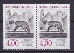 N° 2541 Série Nature Le Renard: Une Paire De 2 Timbres Neuf Impeccable - Unused Stamps