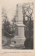 St. Gervais Les Sablons : Le Monument Aux Morts. - Autres Communes