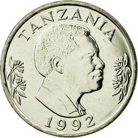 Monnaie, Tanzania, Shilingi, 1992, British Royal Mint, SPL, Nickel Clad Steel - Tanzanie