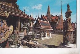 BANGKOK PANTHEON PARTION OF EMERALD BUDDHA TEMPLE AND PAVILION  VG AUTENTICA 100% - Tailandia