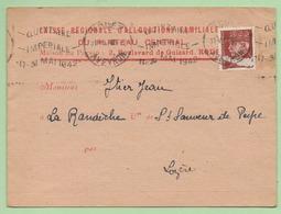 """FLAMME - RODEZ  """"QUINZAINE IMPERIALE 17-31 MAI 1942"""" - 1921-1960: Modern Period"""