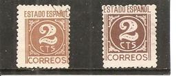 España/Spain-(usado) - Edifil  915-15a - Yvert 654-54A (o) - 1931-50 Afgestempeld