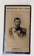Collection Felix Potin - 1898 - REAL PHOTO - Nicolas II, Nikolaï Aleksandrovitch Romanov, Emperor Of Russia - Félix Potin