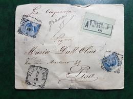(15268) STORIA POSTALE ITALIA 1913 - 1900-44 Victor Emmanuel III
