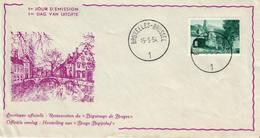 Belgique, Béguignage De Brugge,  Bruxelles 15-05-1954 Date D'émission COB N° 946 - FDC