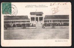 AFRIQUE - COTE D'IVOIRE - Colonies Françaises - BINGERVILLE - Palais Du Gouvernement - Côte-d'Ivoire