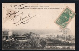 AFRIQUE - COTE D'IVOIRE - Colonies Françaises - BINGERVILLE - Vue De La Lagune Prise Du Gouvernement - Côte-d'Ivoire