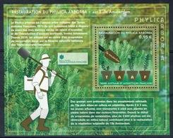 FSAT (TAAF), Restoration Of Phylica Arborea, 2019, MNH VF  Souvenir Sheet Of 1 - Terre Australi E Antartiche Francesi (TAAF)