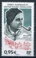 FSAT (TAAF), Yves Vallette, French Explorer, 2019, MNH VF - Unused Stamps