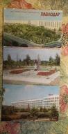 KAZAKHSTAN. PAVLODAR.  6 Postcards Lot. . 1970s - Rare! - Kazakhstan