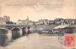 DIEDENHOFEN THIONVILLE  - Entrée Et Coté De La Ville ( Petit Bateau Vapeur ) - Thionville