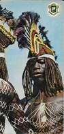 République De Coté D'Ivoire - Folklore ( Homme) - CPSM Format 21 X 10 Cm - Côte-d'Ivoire