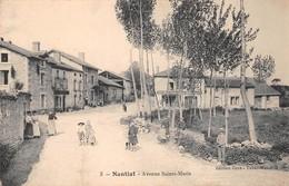 87 - Nantiat - Avenue Sainte-Marie Animée - ( Boucherie - Charcuterie - Restaurant ) - Nantiat