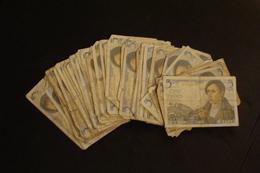 Lot De 55 Billets De 5 Francs Type  Berger (&0004) - 1871-1952 Anciens Francs Circulés Au XXème