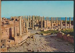 °°° 13134 - LIBYA - TRIPOLI - LEBDA - 1974 With Stamps °°° - Libia