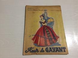 PROTÈGE CAHIER Ancien MOULIN DES MOUDREURS GEORGES DEHAY DOUAI NORD FLEUR DE GAYANT - Protège-cahiers