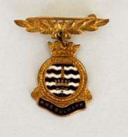 """Insigne Du Porte-avions Britannique """"Bulwark"""" 1960 - Bateaux"""