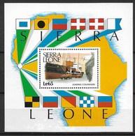 "SIERRA LEONE 1988 Birds ""eagle"" - Águilas & Aves De Presa"