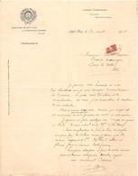 Vieux Papier - Allier 03 - Dompierre Sur Besbre - Sept-Fons - Minoterie - Avril 1915 - Frankreich