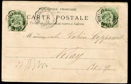 CACHET CONVOYEUR - ETANG-MONTCHANIN-CHAGNY - Marcophilie (Lettres)