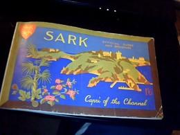 Depliant Touristique Royaume Uni Ile De Sark Guide Officiel 50 Pages Ecrit En Anglais Annèe ? - Dépliants Touristiques