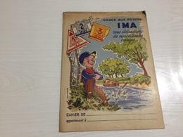PROTÈGE CAHIER Ancien IMAGES IMA - Protège-cahiers