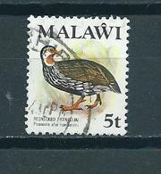 1975 Malawi Birds,oiseaux,vögel 5t. Used/gebruikt/oblitere - Malawi (1964-...)