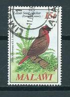 1985 Malawi Birds,oiseaux,vögel 15t. Used/gebruikt/oblitere - Malawi (1964-...)